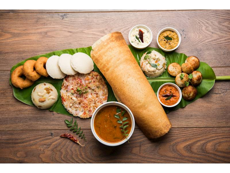 Authentic South Indian Vegetarian Restaurant Amazing Location